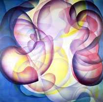 Untitled Acrylic on canvas 80 x 80 cm, 2020