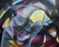 The spirit of light Acrylic on canvas 24 x 30 cm, 2020