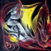 The Fiery, 60 x 60cm, oil on canvas, 2021, Mauricio Paz Viola DSC_0049