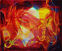 contemporary abstract art, 2014