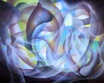 Untitled Acrylic on canvas 40 x 50cm, 2020