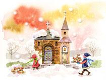 「雪・ゆき・うきうき」~教会をつくろう 2月