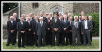 Mitglieder des MGV Liederkranz Geich im Jubiläumsjahr 2014