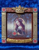 キリスト教のイコン2(ファンエイクの聖母マリア)