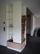 Wohnzimmereinrichtung/ Ofen