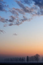 tramonto padano