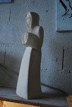apôtre de 50 cm en pierre de Thénac