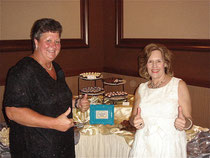 Kathy Noel and Lorraine Gudas