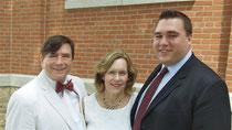 John Wagner, Lorraine Gudas & Greg Wagner