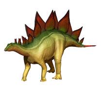 ステゴサウルス 45°