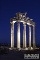 Side, Ruine des Apollon-Tempels, Süd-Türkei
