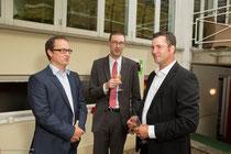 Prof. Dr. Woitalla, Chefarzt Kupferdreh Essen, Dr. Hager, Vorstand IKK, Odin
