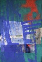 Collage auf Papier, 70X100, 2013
