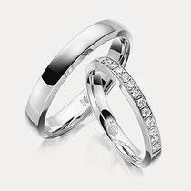 Memoire Ringe Platin Damenring Juwelier
