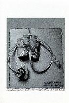 """""""Die Evolution klerikaler Verordnungen"""" 1/3 (3) Werkverzeichnis 2.190 / datiert 15.07.99 / Fotoveränderung eines eigenen Kunstwerkes als Tintenstrahldruck auf Papier / Maße b 20,4 cm * h 29,5 cm"""