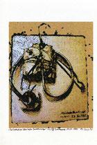 """""""Die Evolution klerikaler Verordnungen"""" 1/3 (1) Werkverzeichnis 2.188 / datiert 15.07.99 / Fotoveränderung eines eigenen Kunstwerkes als Tintenstrahldruck auf Papier / Maße b 19,6 cm * h 29,6 cm"""