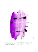"""""""Stellt euch an die Wege und haltet Ausschau, fragt nach den Pfaden der Vorzeit"""" - Die Bibel - / WVZ 3.157 / datiert 07.09.00 / Tusche und Aquarell auf Papier / Maße b 21,0 cm * h 29,7 cm"""
