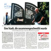 """Pressebericht """"Neue Westfälische"""""""