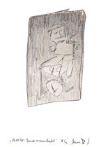 """""""Landsmannschaft"""" / Werkverzeichnis 1.583 / datiert jeweils 16.05.98 / Bleistift auf Papier / Maße b 30,0 cm * h 42,0 cm"""