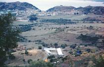 Le poste d'Aïn Zida, l'extrémité du camp, et Collo, en novembre 1960