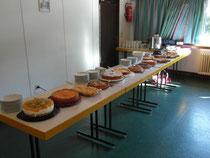 Kuchenbuffet der Landfrauen