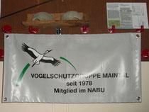 Unser Informationsstand im evangelischen Gemeindezentrum in Hochstadt