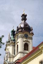 L'église du monastère bénédictin