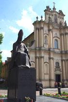 Monument au cardinal Stefan Wyszynski