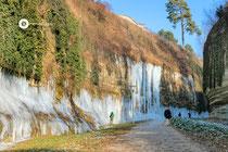 Eisiger Stadtgarten in Überlingen