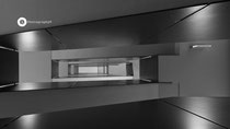 Treppen im Parkhaus FDH