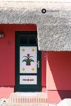 Bunte Türen & Häuser von Ahrenshoop