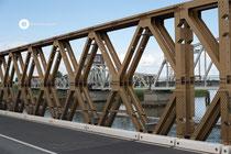 Klappbrücke im V-Grund; Drehbrücke im H-Grund (Meiningen)