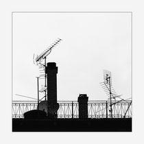 Antennen-Dach-Garten