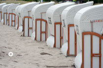 Strandkörbe bei Zingst