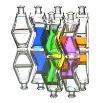 Buntes in Flaschen