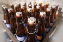 Antike Bierflaschen
