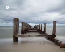 Ehemalige Seebrücke von Zingst