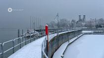 Yachthafen FN im Winter