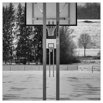 Winter am Sportplatz I