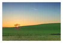 Sonnenaufgang im Salemer Tal