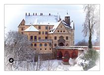 Schloss Heiligenberg im Winterkleid