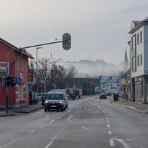 Kirchtürme im Nebel (DGF)