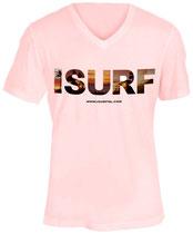 Isurf T-shirt Pink