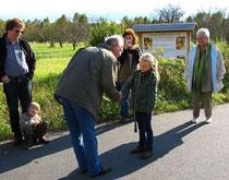 Eröffnung des Sortenschaugartens am 06.10.2007