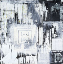 [...] [sic] 02, mixed media on canvas, 60,0 x 60,0 cm, 2013