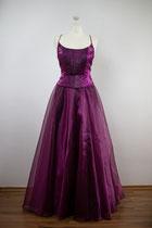 Lila Abendkleid mit Schnürung - Gr. 36 /38 - Kleiderverleih - Danees Photography