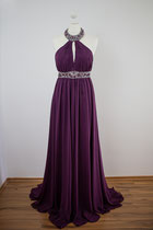 Lila Abendkleid - Gr. 36 /38 - Kleiderverleih - Danees Photography
