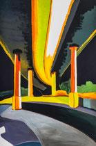 Meenz 1, 2014, acrylic on canvas, 120 x 80 cm