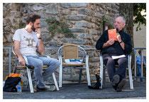 Présentation de l'auteur Pablo Martin Sanchez, invité pour la sortie de son dernier livre : « L'anarchiste qui s'appelait comme moi »