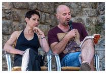 Emmanuelle Urien et Manuel Causse